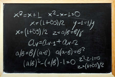 Explaining Golden Ratio with mathematical formulas
