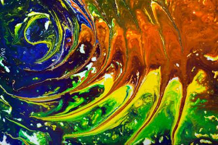 marbled effect: Antiguo m�rmol textura t�cnica de papel. Efecto marm�reo hecho a mano con pinturas acr�licas Foto de archivo