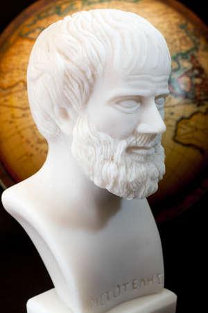 theorist: Greek philosopher Aristotle (384–322 B.C.E.) sculpture