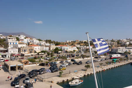 andros: Marina of Andros, is the northernmost island of the Greek Cyclades archipelago in the Aegean Sea - area is 380 km2, 40 km long, and its greatest breadth is 16 km.