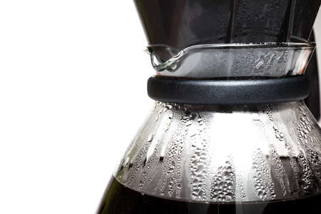 percolator: Filter coffee into a glass jug