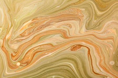 Oud gemarmerd papier techniek textuur. Handgemaakte marbleized effect met acryl verf
