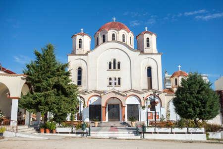Grieks-orthodoxe Kerk in Alexandroupolis - Griekenland