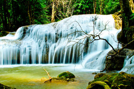 abundant: waterfalls in the forest
