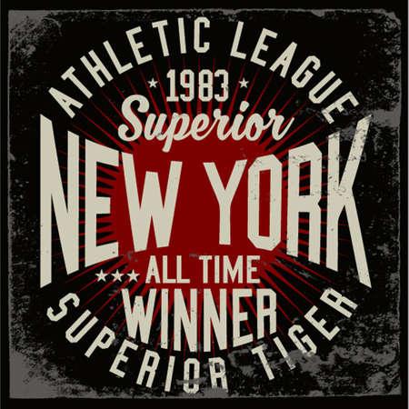 Varsity vector graphics - athletic vintage artwork