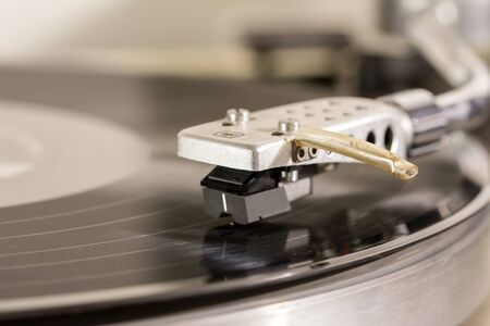 bpm: Record player – Stock Image