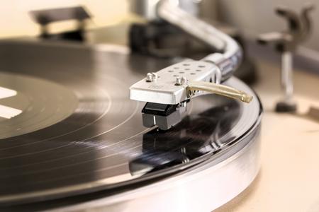 Record player – Stock Image Standard-Bild