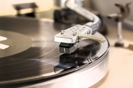 Record player – Stock Image