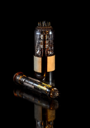 Transistor lamp Stock Photo