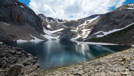 Black Lake (Karagol) in Turkey