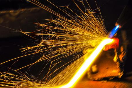 Oxy acetylene welding Фото со стока