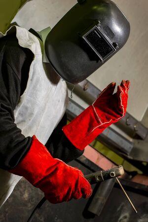 combining metals welding method