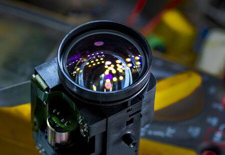 close up camera lens, camera lens background 스톡 콘텐츠