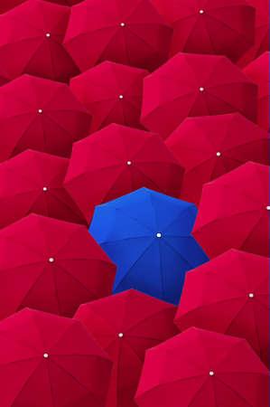 Umbrella, leader, unique, boss, individuality, original, special