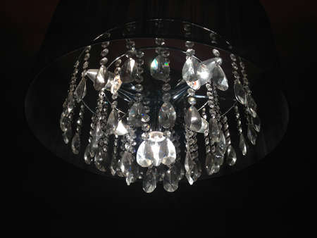 lampekap: ongebruikelijke moderne stijl lampenkap Stockfoto