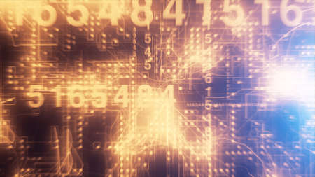 binary background: Technological Numbers