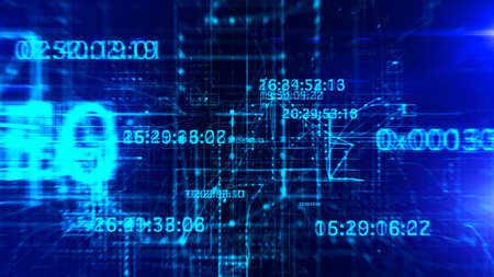 Digital Network Stock Photo