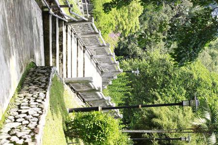 Mini Stone Bridge in the Park