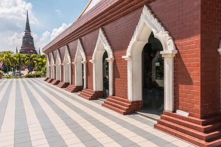 chaimongkol: Pagoda at Wat Yai Chaimongkol, Ayutthaya, Thailand