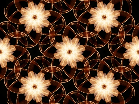 The Graphic Design Abstract Artificial Flowers Background Wallpaper photo