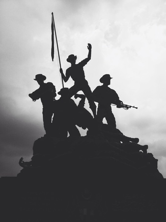 negara: The memorial statue of independence called Tugu Negara