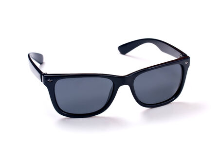 photo sunglasses classical model for men on a white background photo