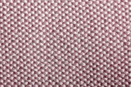 red background of structure fabric macro shooting