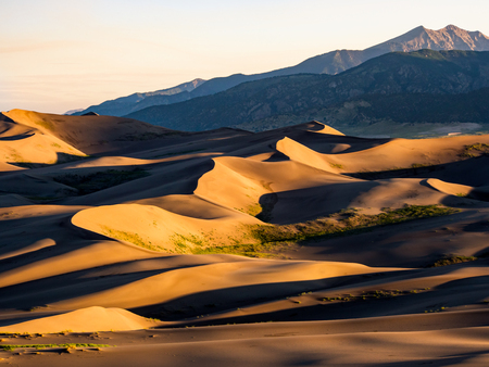Sand Dunes at Sunrise, Great Sand Dunes National Park