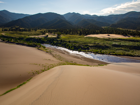 Great Sand Dunes River View