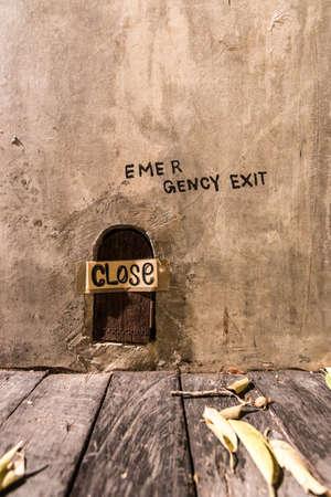 temptation: Emergency exit