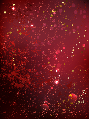 royal background: textured, velvety background color marsala with gold sequins.