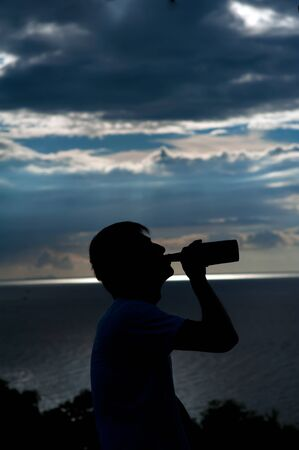 Drink before sunset1 Stock Photo - 13613829