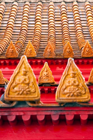profound: Thai style buddhism temple Roof Tiles of Wat Benchamabophit is a temple compound of profound beauty and religious importance.Wat Benchamabophit is a royal monastery belonging to the first class ranking of Rajavaravihara. Few wats belong to this class in B