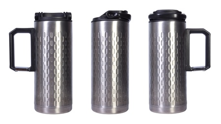Stainless designed thermal mug coffee cup photo