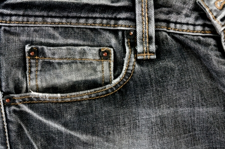 a jeans background or texture Stock Photo - 13984389