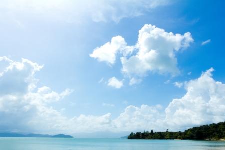 onbewoond: Mooie onbewoond eiland in Thailand Stockfoto