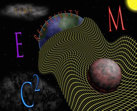 相対性理論 & 時空 写真素材 - 10022077