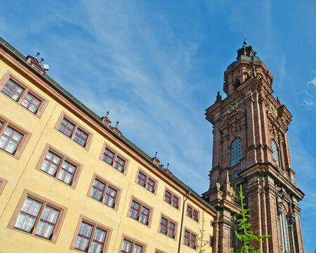 University Church of Wuerzburg, Germany Stock Photo - 11072433