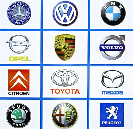 international carmakers Stock Photo - 11016969