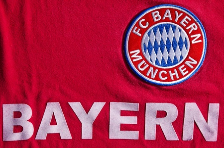 munich: Jersey of German soccer club FC Bayern Munich