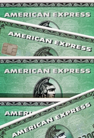 credit crisis: AmEx is an multinational financial services corporation headquartered in New York City, USA., best known for its credit cards.