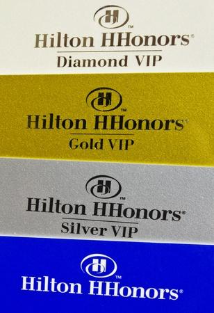 ヒルトン h オナーズは、ヒルトン ホテルのゲストロイヤルティ プログラム ポイントとエアライン マイル頻繁にゲストが蓄積される可能性です。 報道画像