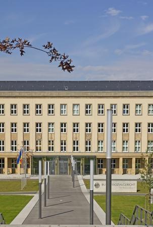 supreme court: Federal Social Court of Germany (Bundessozialgericht) in Kassel, Hesse, Germany