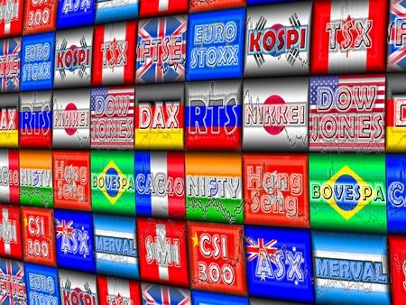 �quit�: Indices boursiers dans le monde
