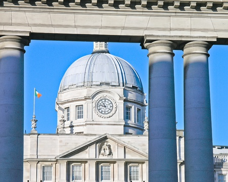 Dublin (Ireland): Department of the Taoiseach,  Merrion Street Stock Photo - 13257559