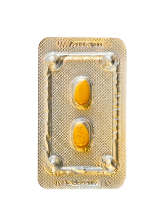 Cialis Pills marketed by the company Lilly ICOS LLC. Stock Photo - 13575292