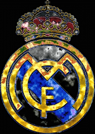 Real Madrid badge Stock Photo - 13668645