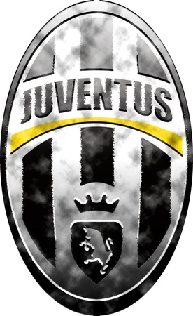 Used badge of Juventus Turin
