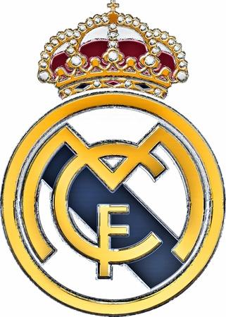 madrid  spain: REal Madrid Badge