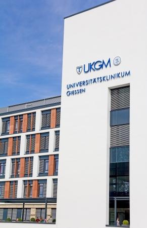 privatization: Giessen, Germany, September 2, 2012: University Hospital Giessen in Giessen, Hesse, Germany
